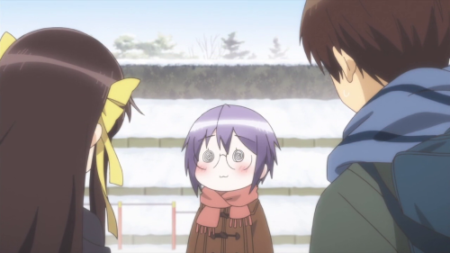 [MANGA/ANIME] Nagato Yuki-chan no Shoushitsu (The Disappearance of Nagato Yuki-chan) ~ 598888vlcsnap2015051411h23m00s168