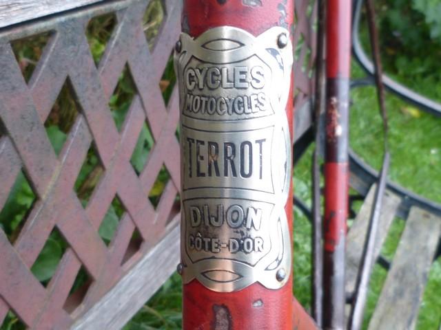 "Terrot ""course standard"" 1930-31 grenat. 600558P1200783"