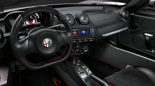 Alfa Romeo au Salon International de Genève 2015 601018150223AR4CSpider15