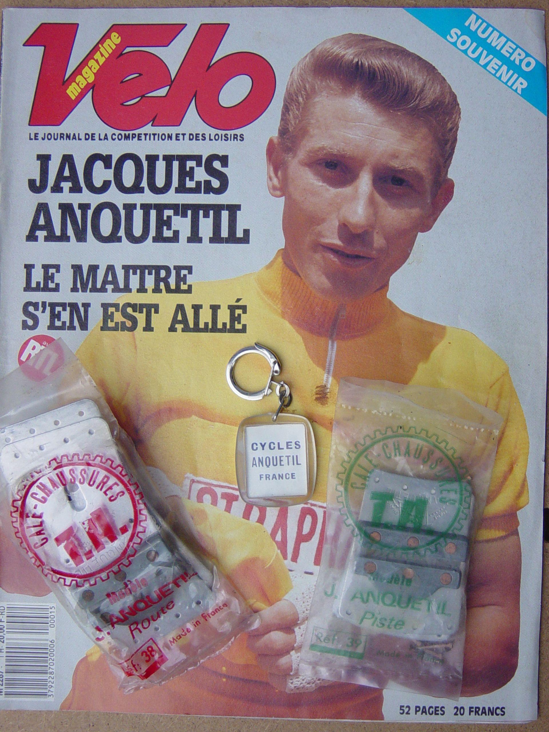 Jacques ANQUETIL 1966 601673Rlivrecales