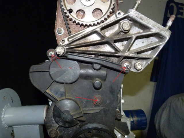 TUTO , remplacement kit distribution et pompe a eau 603097P1130840
