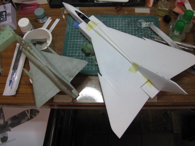 Avro Arrow CF-105 1/48 Hobbycraft 603214IMG11673