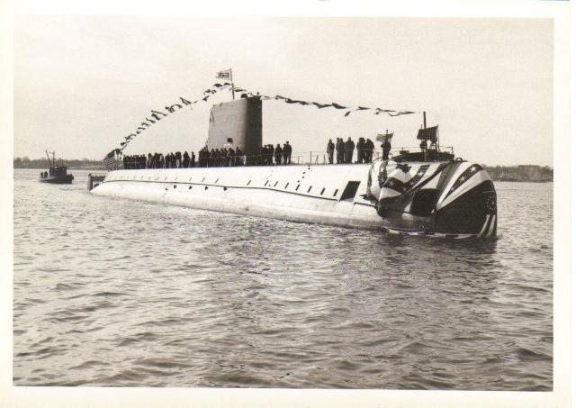 SOUS MARIN NUCLEAIRE D'ATTAQUE USS NAUTILUS 604600USSNautilus2