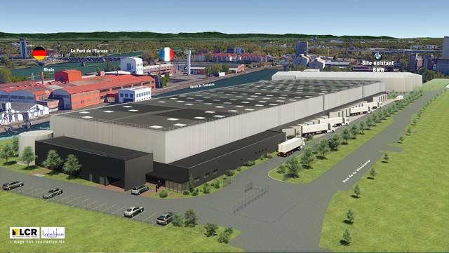 BMW Group agrandit son centre de distribution de pièces de rechanges et accessoires de Strasbourg 604700P90244980highResextensionprastrasb