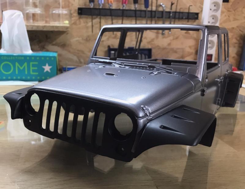 Jeep Rubicon Wraith New Bright 6053422422