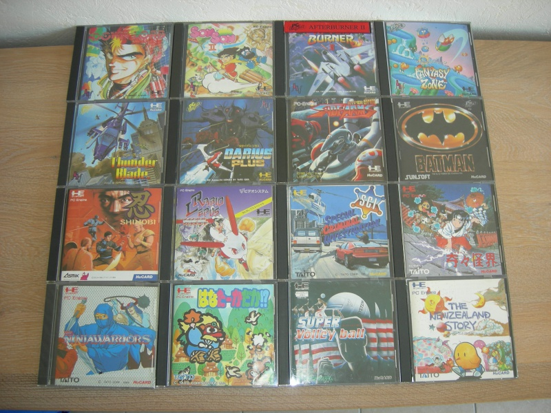 My collec ! Retro un jour.............. 606949PCEngine3