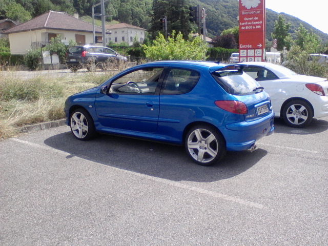 [BoOst] Peugeot 206 RCi de 2003 607054P2507151551