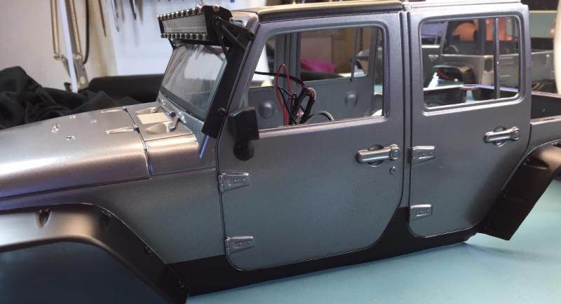 Jeep Rubicon Wraith New Bright 6070552527