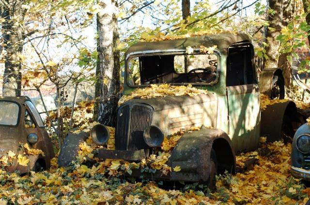 Les voitures abandonnées/oubliées (trouvailles personnelles) - Page 2 607753DSC045344