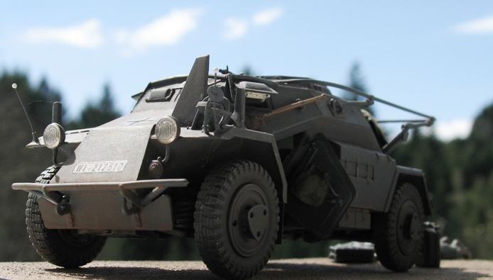 sd kfz 223 Hobbyboss 1/35 607999modles112034