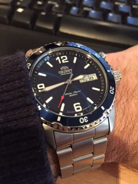 Votre montre du jour - Page 18 609225Makoblue17