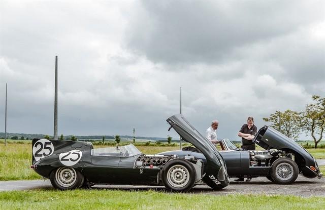 Les Jaguar XF, F-Pace et F-Type célèbrent les 60 ans de la victoire de la Type D aux 12 Heures de Reims Lors De La 22ème Edition De Sport Et Collection 610534IMG4761LowRes