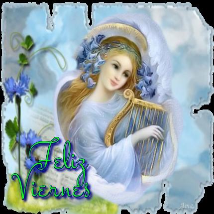Arcangel Tocando el Arpa 610848viernes