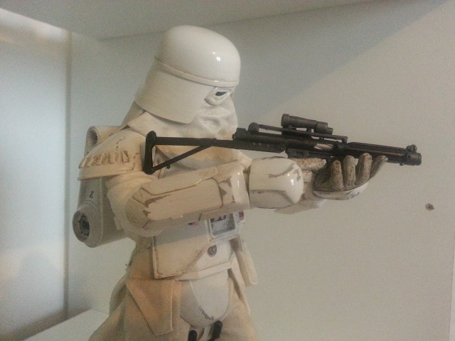 red360 review's : Star Wars Battle Of Hoth: Snowtrooper by Sideshow 61161520130426165230