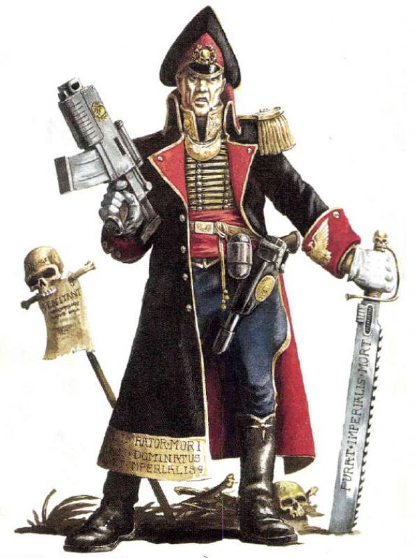 [W40K] Collection d'images : La Garde Impériale 613142Commissarsword