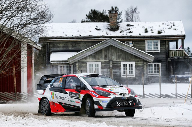 Jari-Matti Latvala Gagne En Suède Avec La Yaris WRC Et Prend La Tête Du Championnat Du Monde 615583AL20170025545