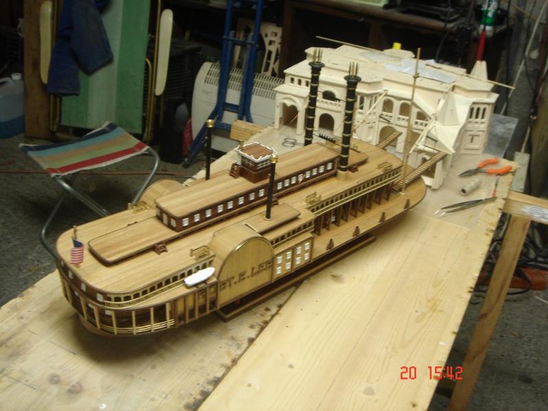 Bateau vapeur Robert E. Lee 1866 (Constructo 1/48°°) de Henri 615634DSC06826