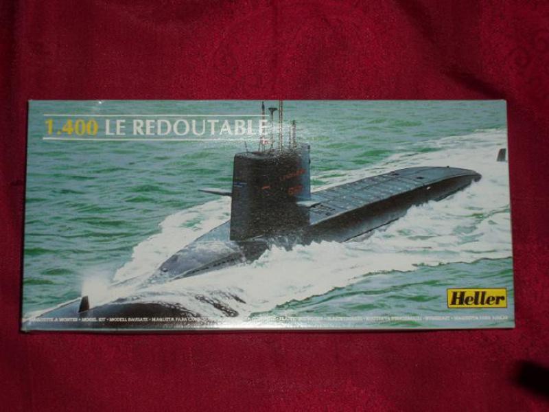Sous-marin nucléaire lanceur d engins SNLE REDOUTABLE 1/400ème Réf 81075 615893fotodivers059