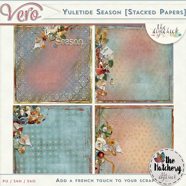 Véro - MAJ 02/03/17 - Spring has sprung ...  - $1 per pack  - Page 10 615974Veroyuletideseasonstackedpv