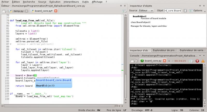[Python]Spyder, le super éditeur de code, et aide au debug 617376debuggagespyder6