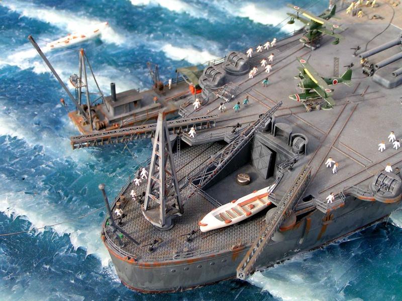 Yamato waterline au 1/350° de Tamyia  6174421532