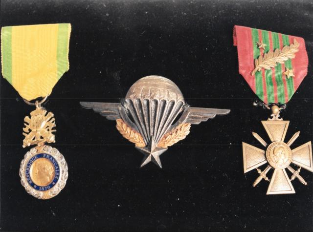 Chocs parachutés , libération Pont de Claix , Grenoble Août 1944 617835MASSONBMP6634
