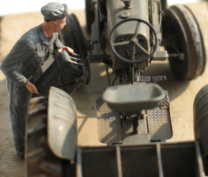 Tracteur CASE VAI avec chargeur 1943  Thunder Model 1/35 619505IMG0099