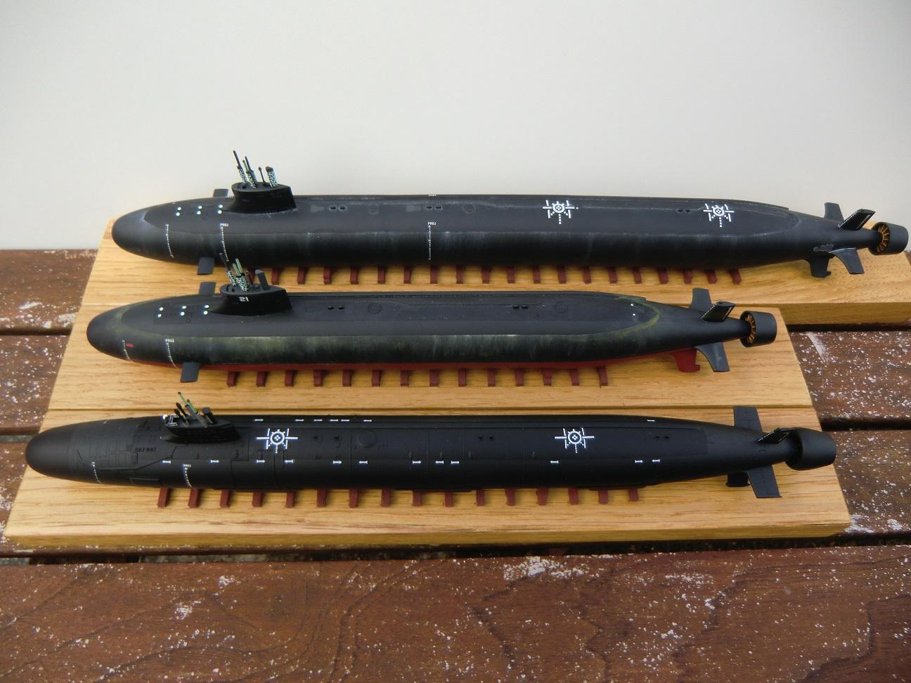 SSN 21 ET SSN 23 Seawolf Class 1/350 - Page 3 620274CIMG7650