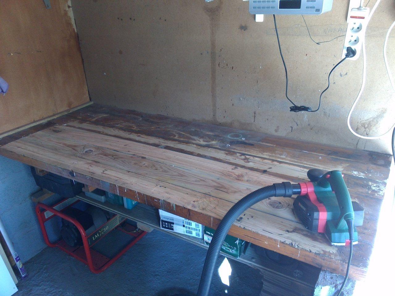 Faire d'un grand garage un atelier !  - Page 2 620356IMG20150627085820