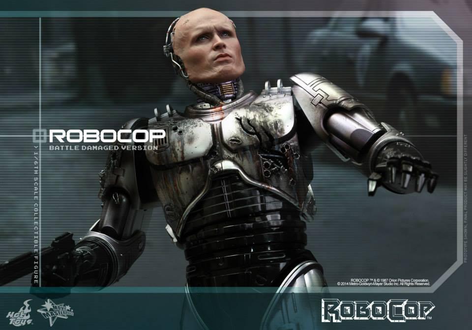 HOT TOYS - Robocop - Robocop (Battle Damaged Version) 621357106