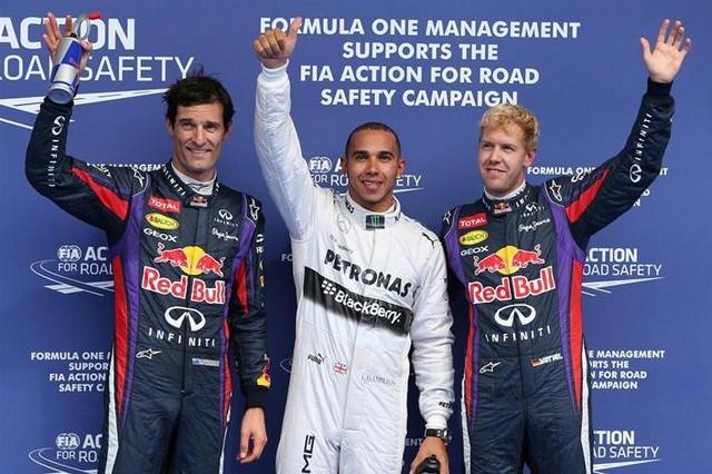 F1 GP de Belgique 2013 : (essais libres-1-2-3-Qualifications) 6235142013gpwebberhamiltonvettel