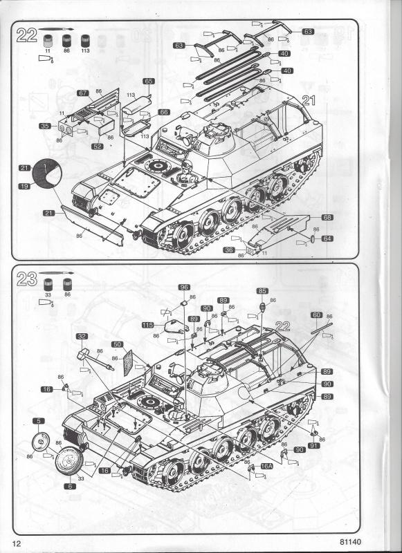 AMX 13 VCI 1/35ème Réf 81140 624476VCI012