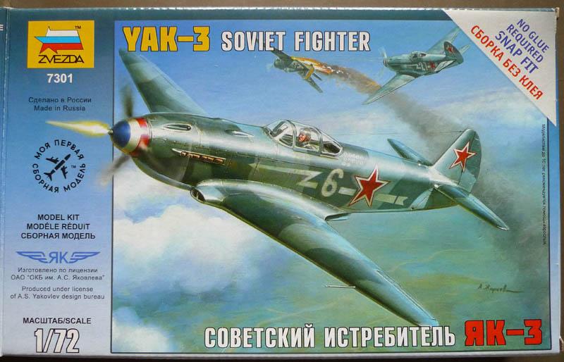 "[Chrono Mai 2013] Zvezda - Yakovlev Yak 3 du ""NeuNeu"". 624520Yak301"