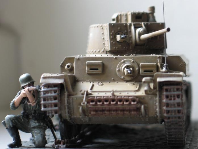 panzer Kpfw 38 t ausf F Tristar 1/35 624719modles109012