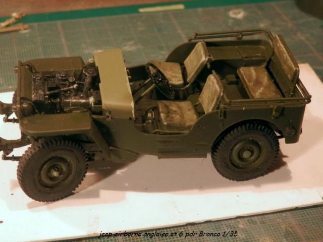 jeep indochine - 6 pdr ,jeep ,équipage airborne Bronco 1/35 (sur la route de Ouistreham) 625683P5030421