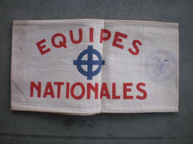Les Equipes Nationales du Régime de Vichy 626431P5300890