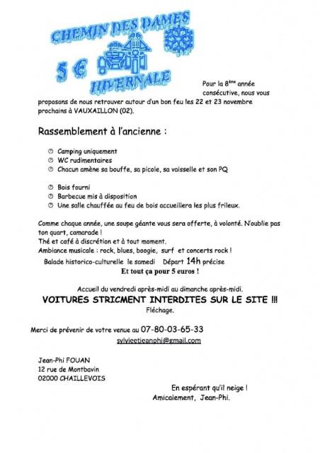 hivernal chemin des dames a Vauxaillon 02 le 22 et 23 11 201 628055dnepr10