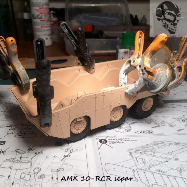 AMX 10 RCR SEPAR maquette Tiger Model 1/35 628372IMG3767