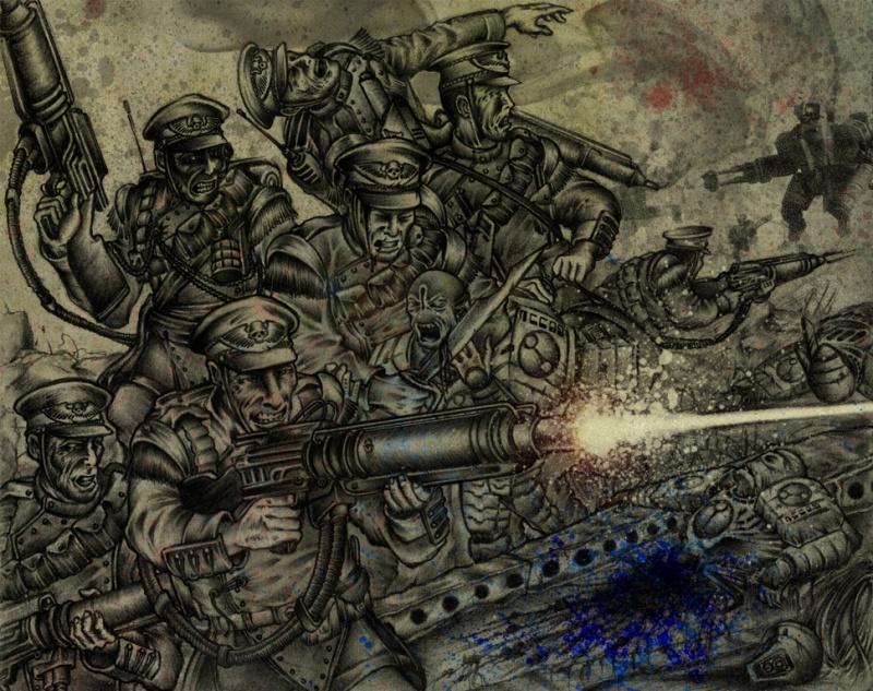 [W40K] Collection d'images : La Garde Impériale 628921MordianIronheartsbyjeenhoong