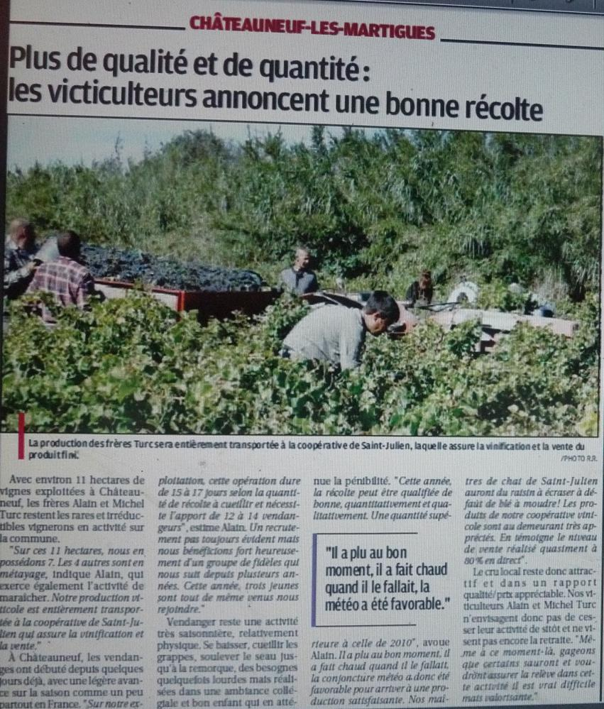 A S CASTELLAS CHATEAUNEUF LES MARTIGUES/ PHA PROVENCE  629517P1220139