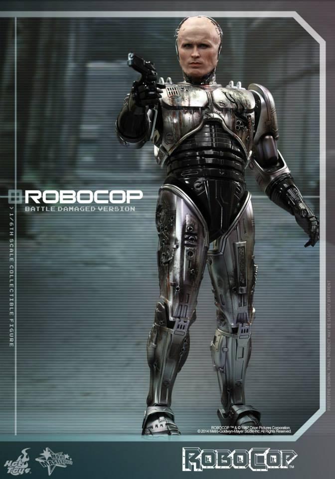 HOT TOYS - Robocop - Robocop (Battle Damaged Version) 632939101