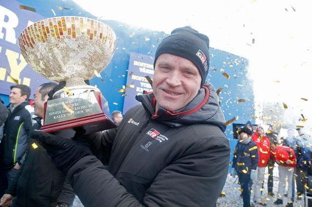 Jari-Matti Latvala Gagne En Suède Avec La Yaris WRC Et Prend La Tête Du Championnat Du Monde 633379AL20170026185