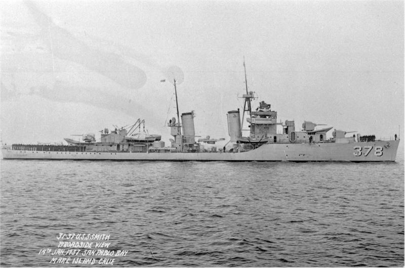 USN DESTROYERS CLASSE MAHAN 636028USSSmith19011937