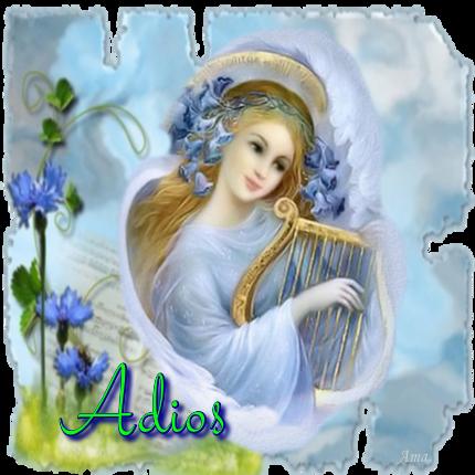 Arcangel Tocando el Arpa 636047adios