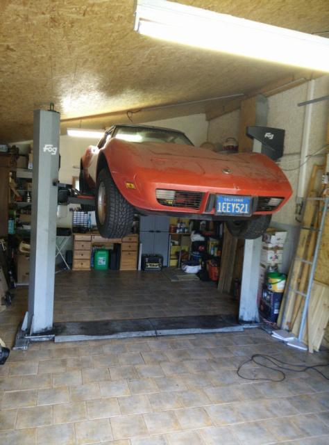 Corvette C3 76 en cours de restauration - Page 2 637188IMG20141011123421