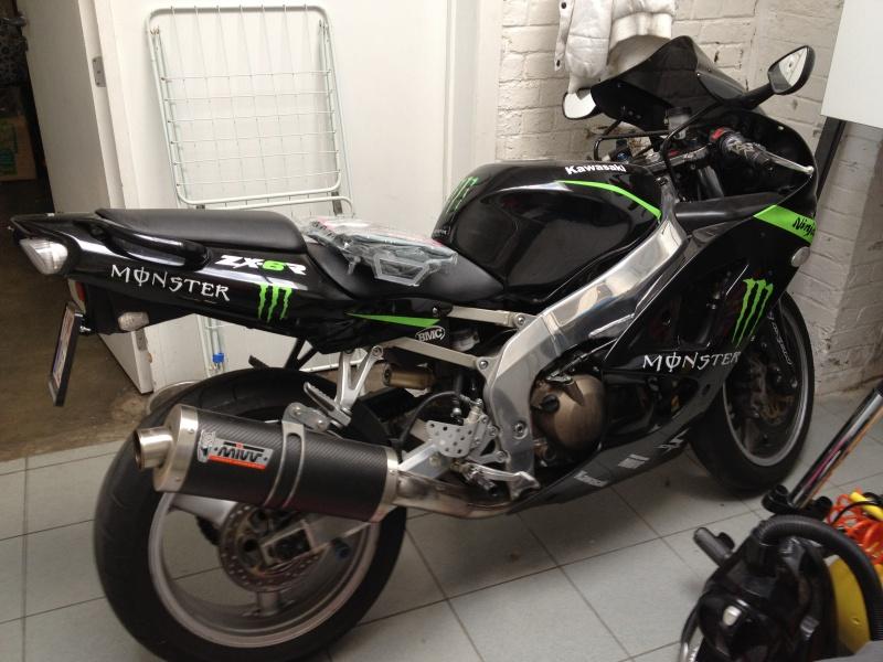 zx6r 2000 black Monster 638040IMG0473