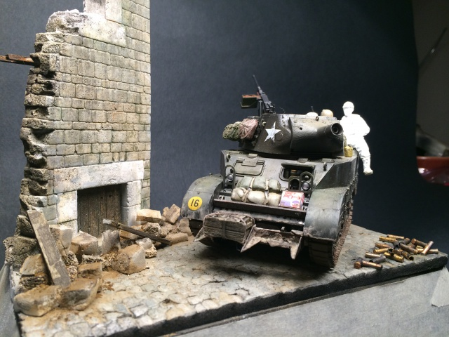 """""""Le laxatif"""" - M8 Howitzer unité """"Hell on Wheels"""" - 2nd Armored division, Normandie - Tamiya 1/35 638693IMG3476"""