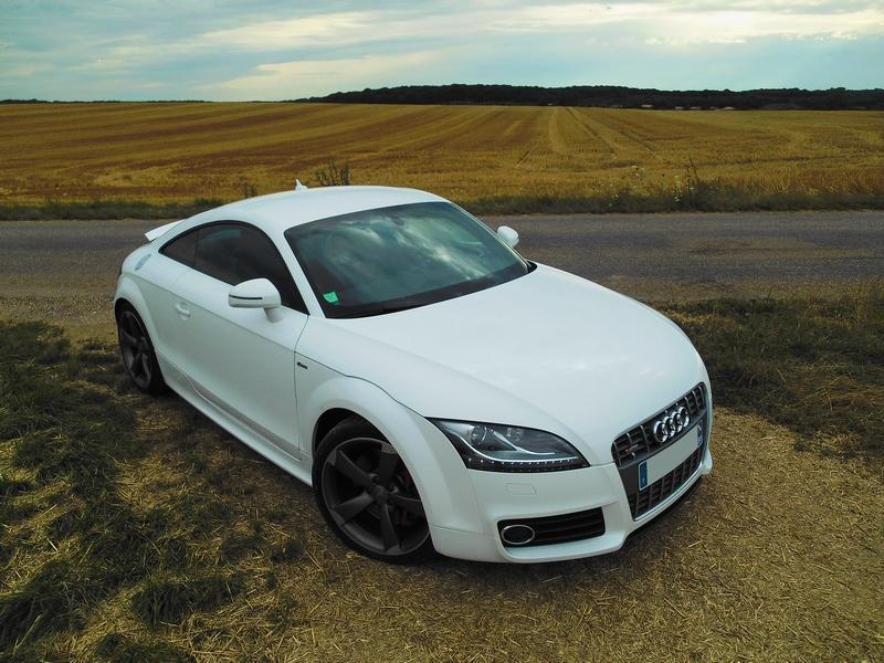 AUDI TT V6 3.2 Blanc Ibis 638942TT1