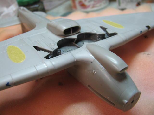 Hawker Hurricane Mk IId Trop 6 Sqn 1942 Hobbycraft 1/48.... Terminé! 639036IMG0960