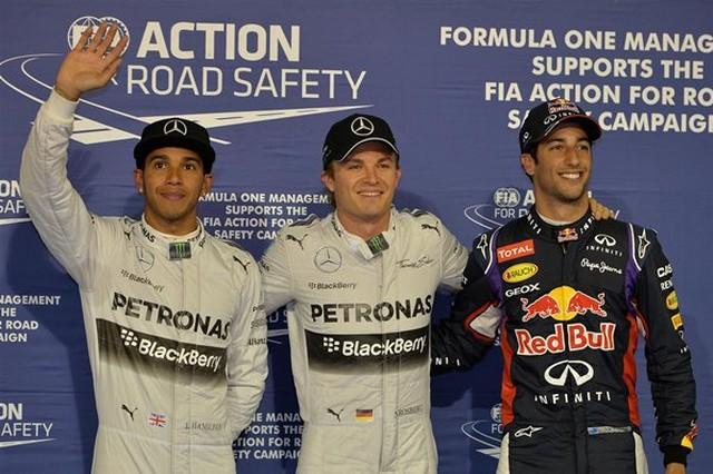 F1 GP de Bahreïn 2014 : (essais libres-1-2-3-Qualifications) 6401882014samediHamiltonRosbergRicciardo